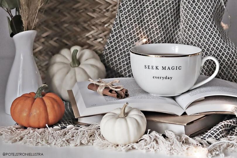herbata, koc i dynie na jesienną chandrę