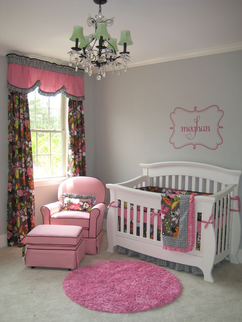 Greenville Baby: Gray Girl's Nursery