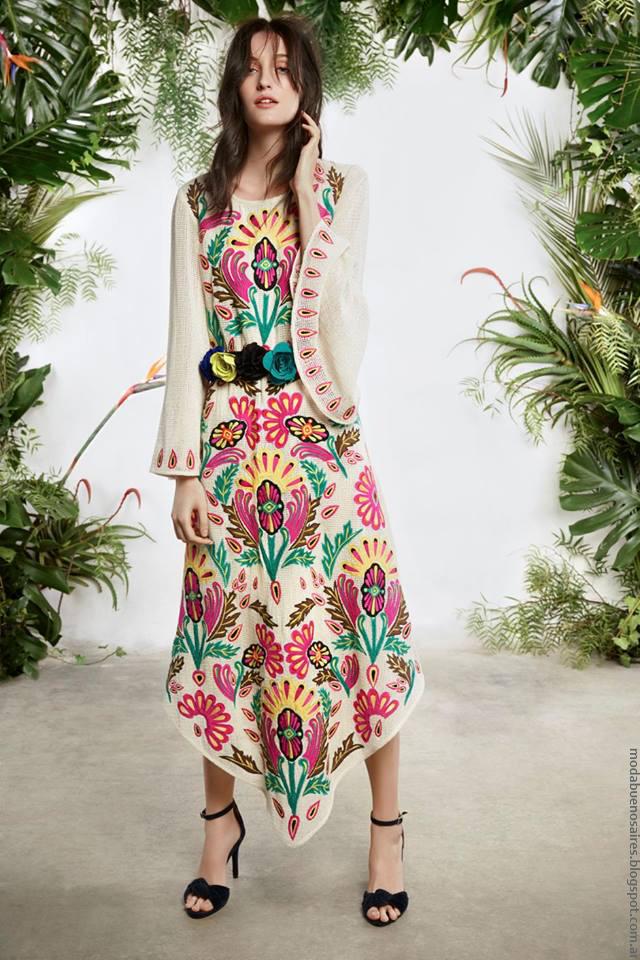 Vestidos primavera verano 2017 ropa de mujer María Cher.