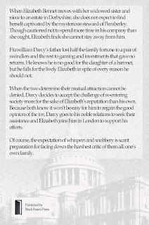 Back cover of book: The Reintroduction of Fitzwilliam Darcy by Christine Combe