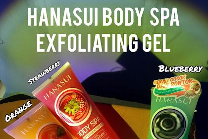 Review Hanasui Body Spa Exfoliating Gel Strawberry, Blueberry, & Orange