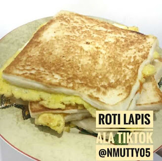 Roti Lapis ala Tiktok - NMUTTY.com