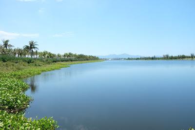 Sông cổ cò trước dự án Sunriver City Đà Nẵng