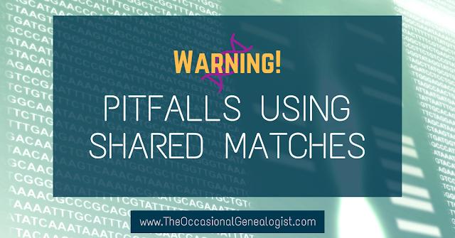Pitfalls Using Shared Matches