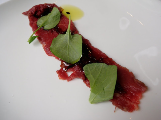 Bison Carpaccio