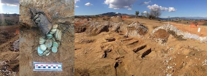 Νέοι αρχαιολογικοί χώροι ανακαλύφθηκαν στην Ελλάδα κατά την κατασκευή του αγωγού ΤΑΡ