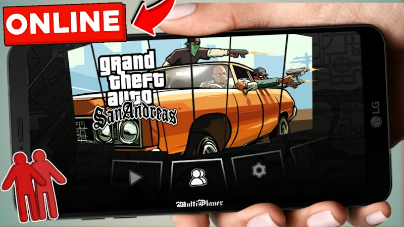 GTA SAN ONLINE (Android) [TONY]