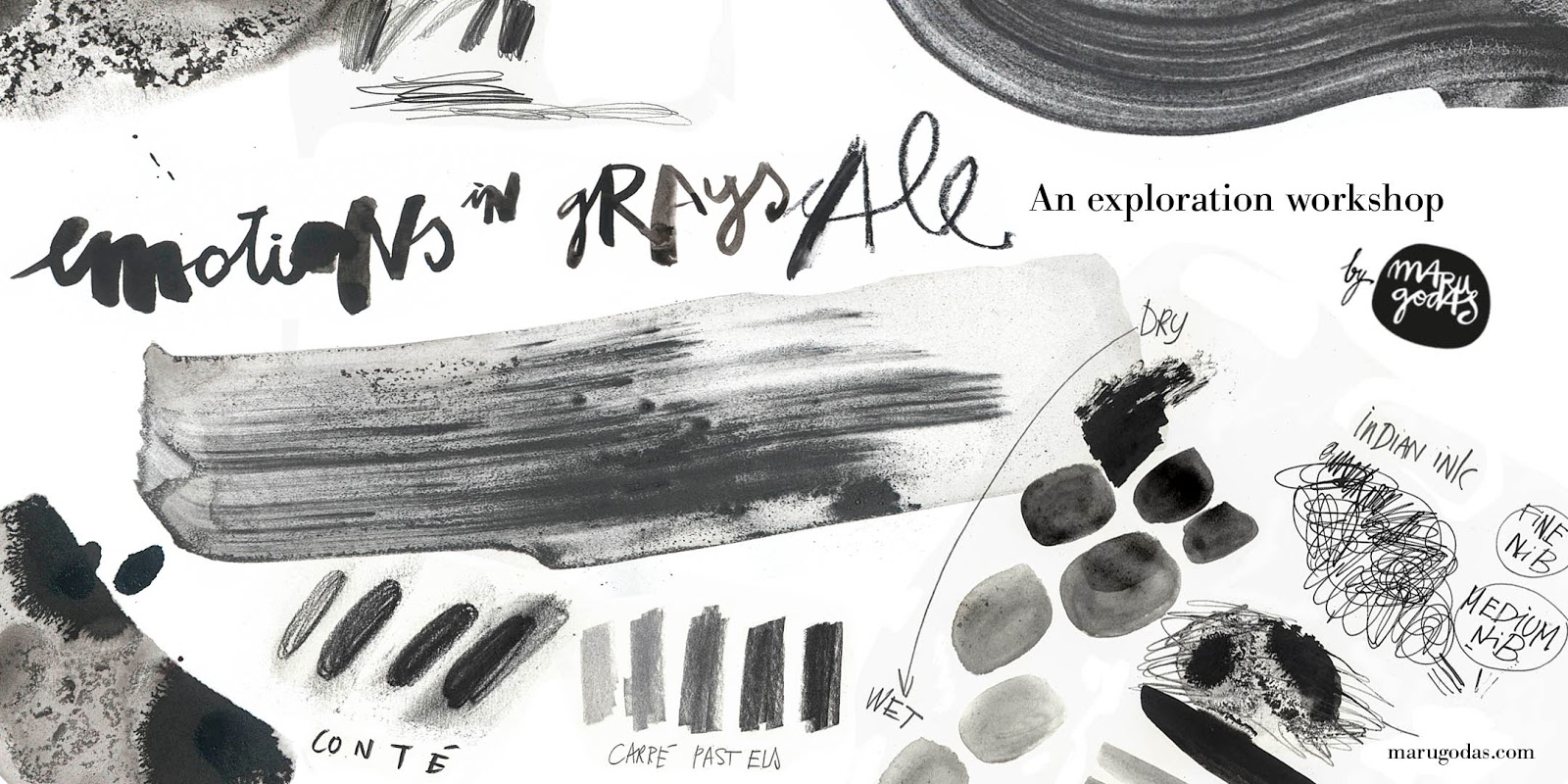 Emotions in Grayscale Workshop: San Francisco | Urban Sketchers