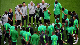 Super Eagles Sqaurd Getting Ready To Battle Sierra Leone.
