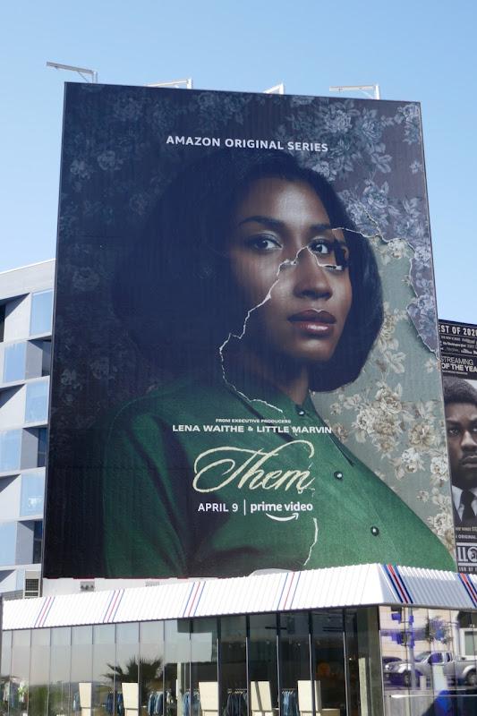 Giant Them series premiere billboard