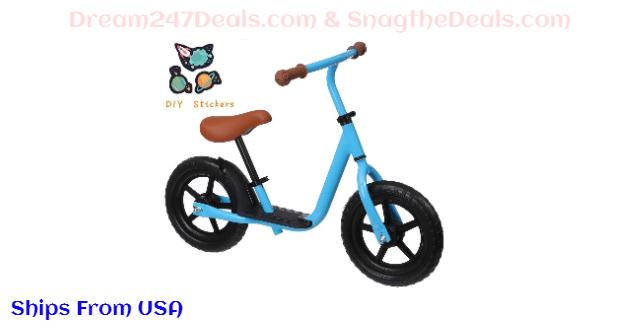 KingSo Kids Balance Bike 40% OFF