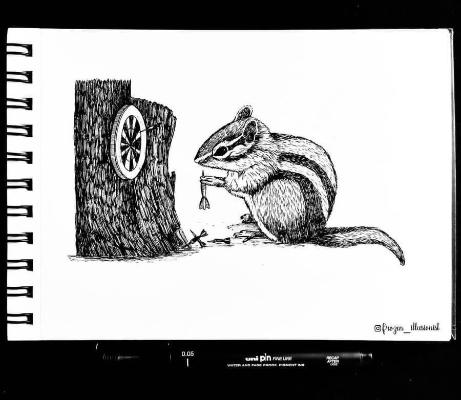 08-Chipmunk-Dart-Player-Fiona-Victoria-www-designstack-co