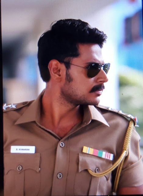 Sundeep Kishan as Police in 'Mayavan' Telugu Movie
