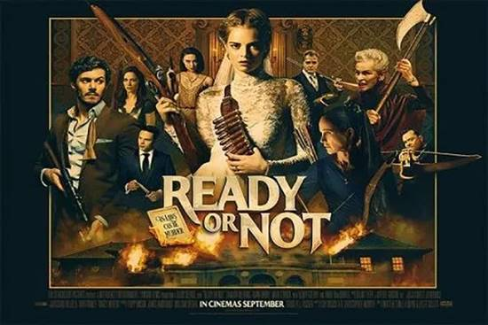 Review dan Fakta Film Ready or Not (2019), Thriller yang Menggelitik