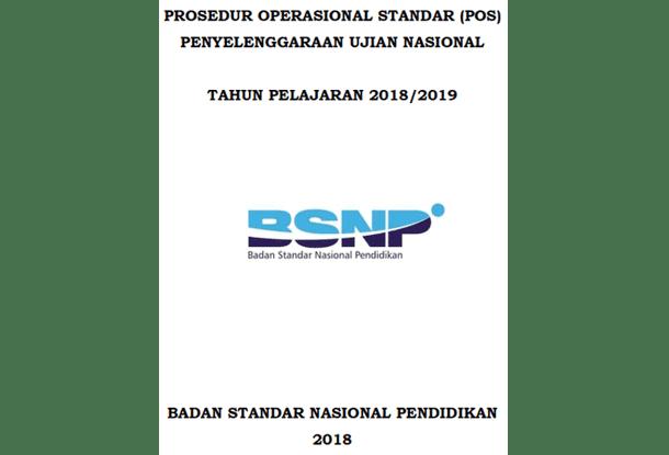 POS UN (Ujian Nasional) Tahun Pelajaran 2018/2019