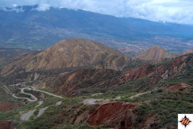 Da Ayacucho a Huancayo in autobus. Il paesaggio nella prima parte