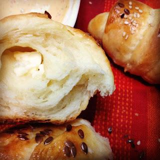 Recette des Croissants au fromage