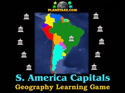 South America capitals Puzzle