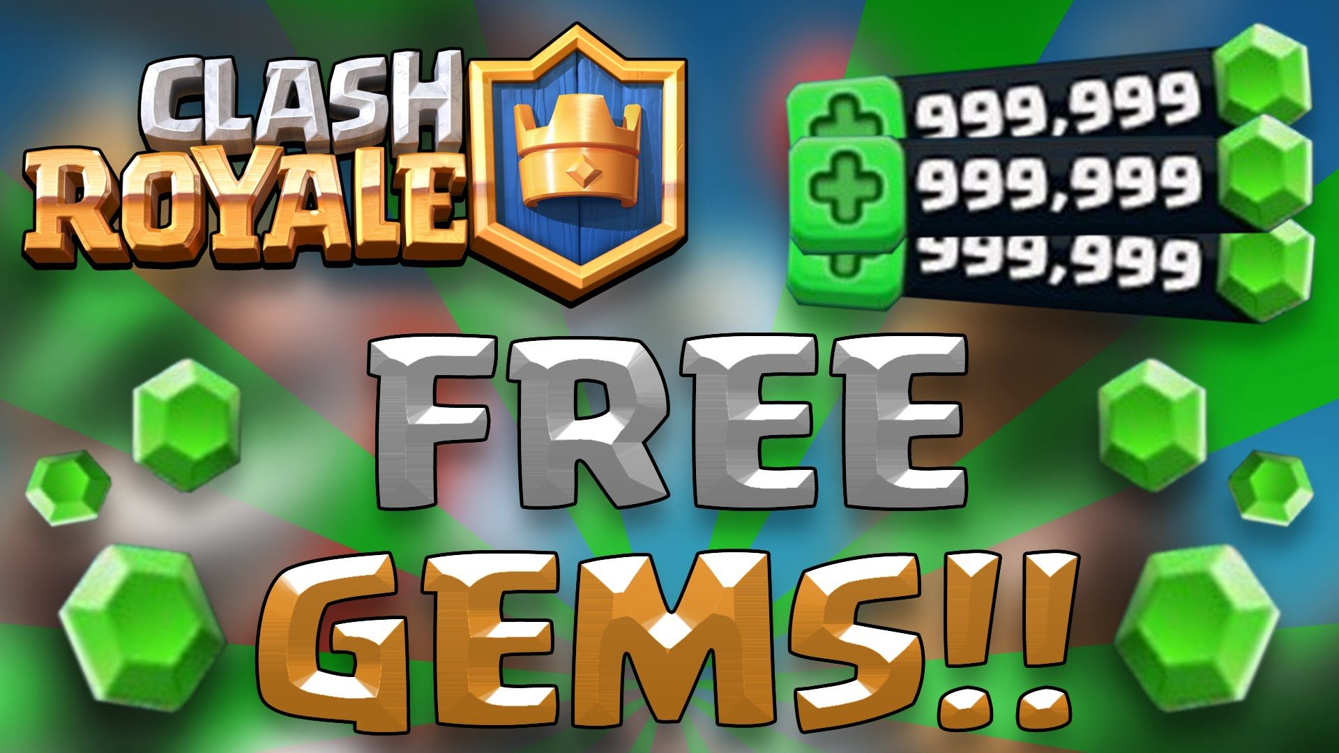 Get Clash Royale Unlimited Gems For Free! 100% Working [October 2020]