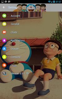 BBM MOD Doraemon Transparan v3.0.1.25 APK