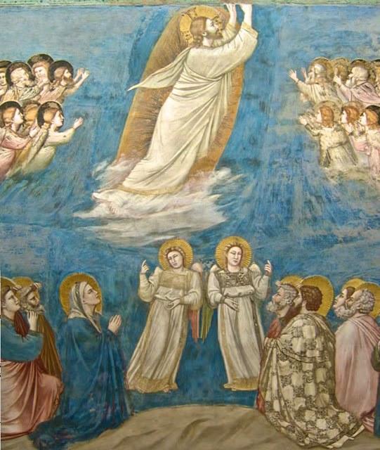Ascensione di Gesù Cristo - Giotto - 1303 - 1305