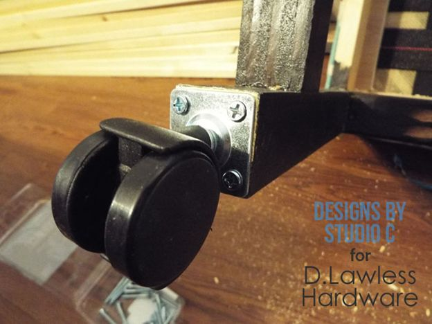 Install Casters - D. Lawless Hardware