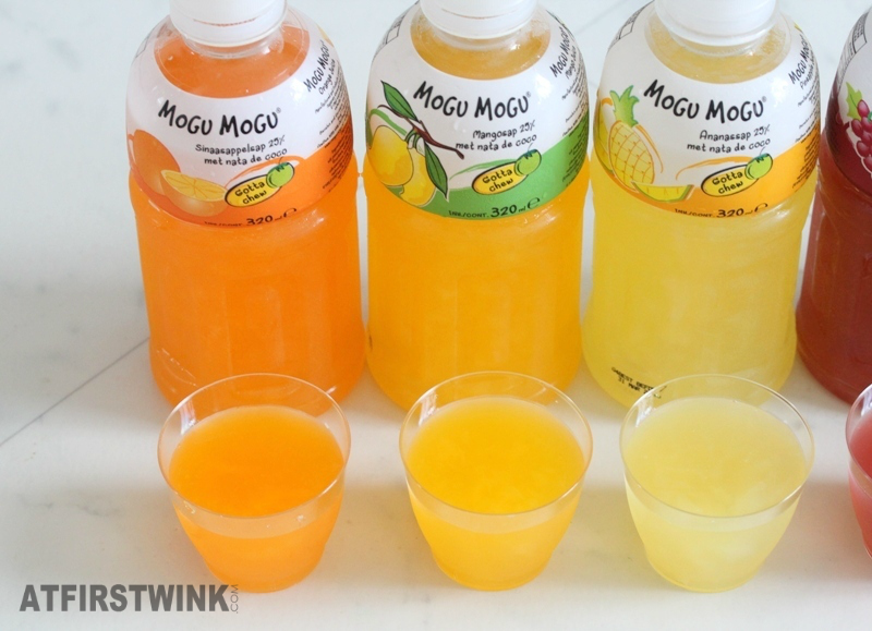 mogu mogu drinks orange mango pineapple