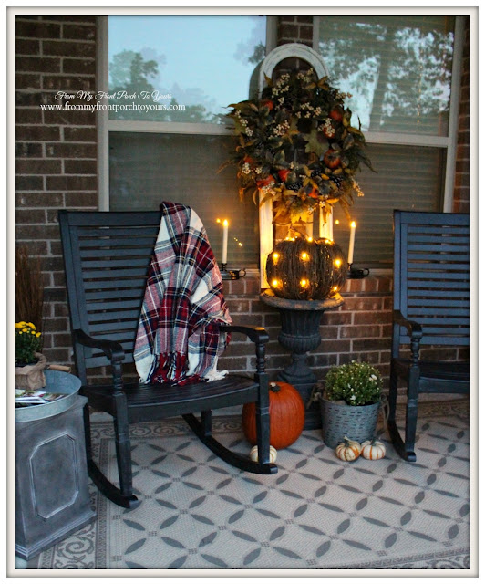 Farmhouse Style-Fall Porch-Balsam Hill-From My Front Porch To Yours