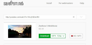 Download videos from YouTube without download manager