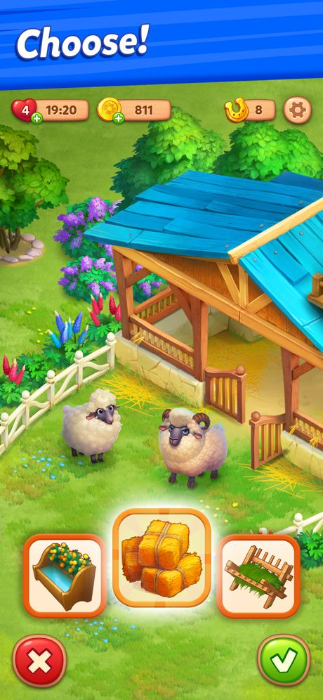 Farmscapes Mod Apk (Unlimited Money + Horseshoes) 1