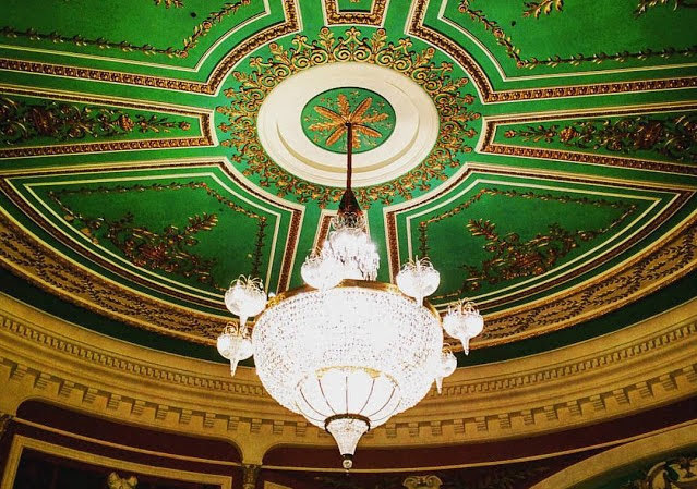 Dublin in a day: Chandelier at the Gaiety Theatre