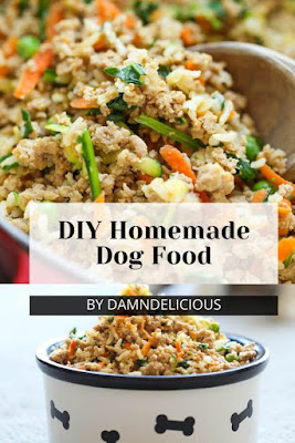 Store-Bought Ingredients Homemade Dog Food