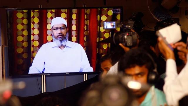 Zakir Naik Diusir dari Malaysia karena Serukan Pengusiran Etnis China