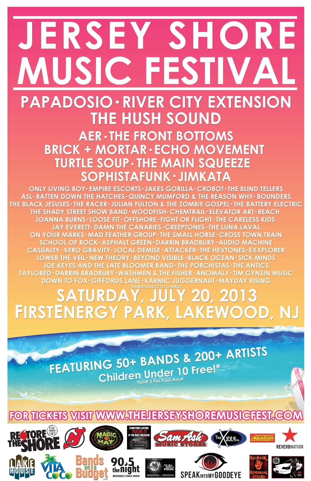 Jersey Shore Music Fest Edition | CoolDad Music