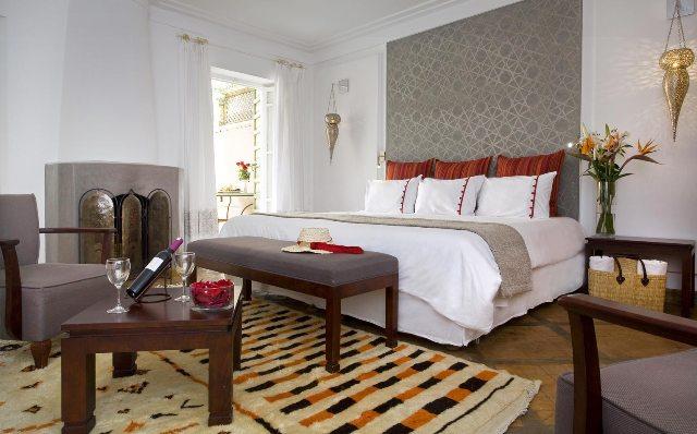 suite hotel con encanto en marrakech