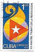 Selo Aniversário da Revolução Cubana