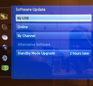 Samsung TV Software Image