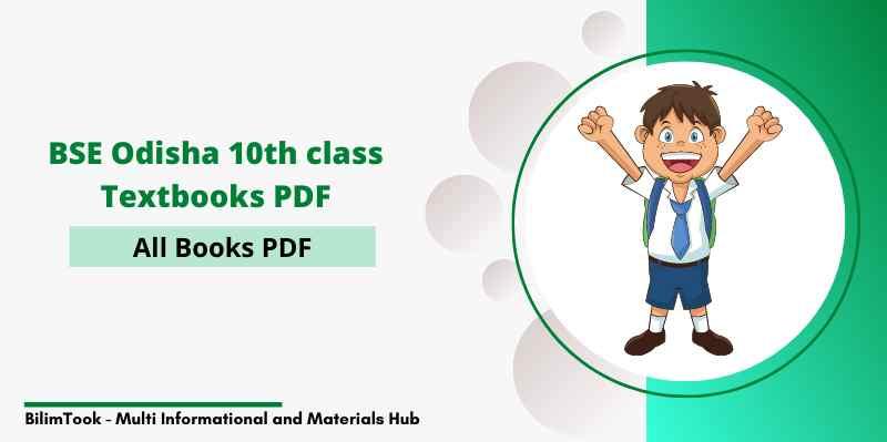 BSE Odisha 10th Class All Books - PDF Download 2021