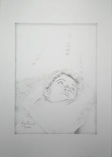 Mag Wozniak - Self-portrait in winter on Montparnasse