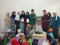Mahasiswa/i FUSI UINSU Magang Di Rumah Qur'an Mas'ud Silalahi