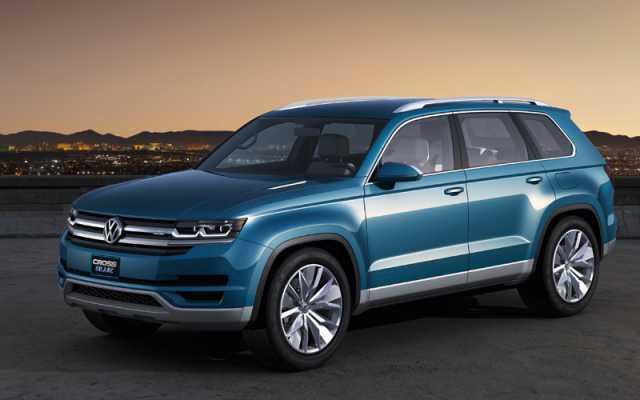 2018 VW Touareg Redesign