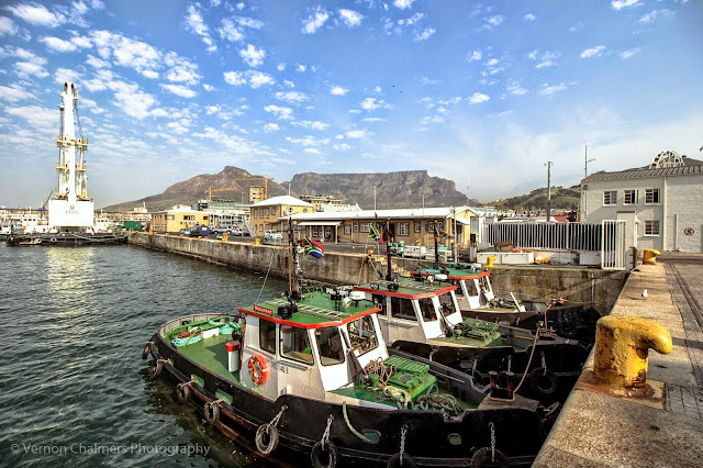 Canon EF-S 10-18mm IS STM Ultra-Wide Lens V&A Waterfront Cape Town - Three small boats