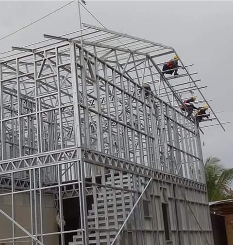 pasang atap baja ringan di cianjur pusat kanopi canjur cipanas puncak