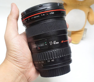 Lensa Canon 17-40 f:4 L Series