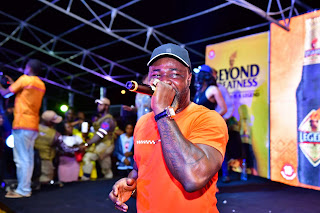 Harrysong thrills fans at Legend's Real Deal Experience Concert in Enugu