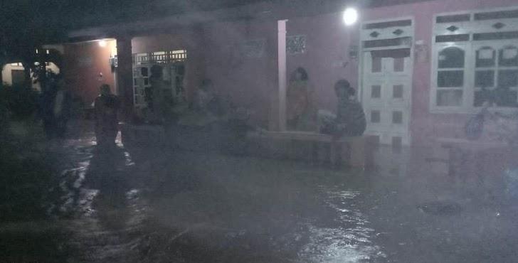 Hujan Deras Sebabkan Banjir Sebahagian Kota Palopo, Buruknya Saluran Drainase Jadi Pemicu