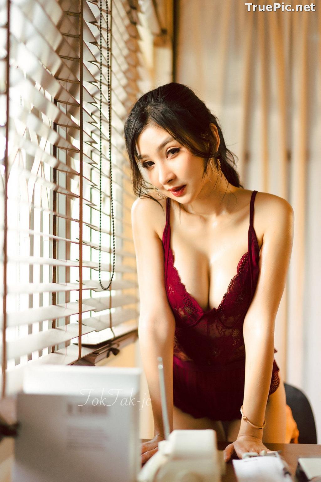 Image Thailand Model - Pattamaporn Keawkum - Red Plum Lingerie - TruePic.net - Picture-9