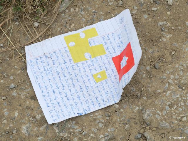 réserve Van Long vietnam ecole lettre