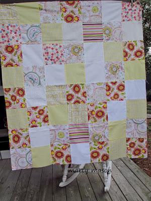 improv 4 patch for community service quilt