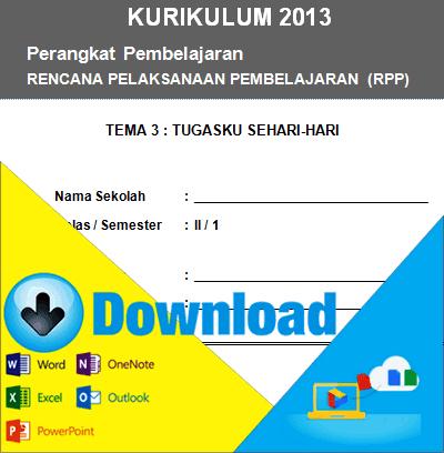 Download Rpp Kurikulum 2013 Kelas 2 Sd Tema Tugasku Sehari